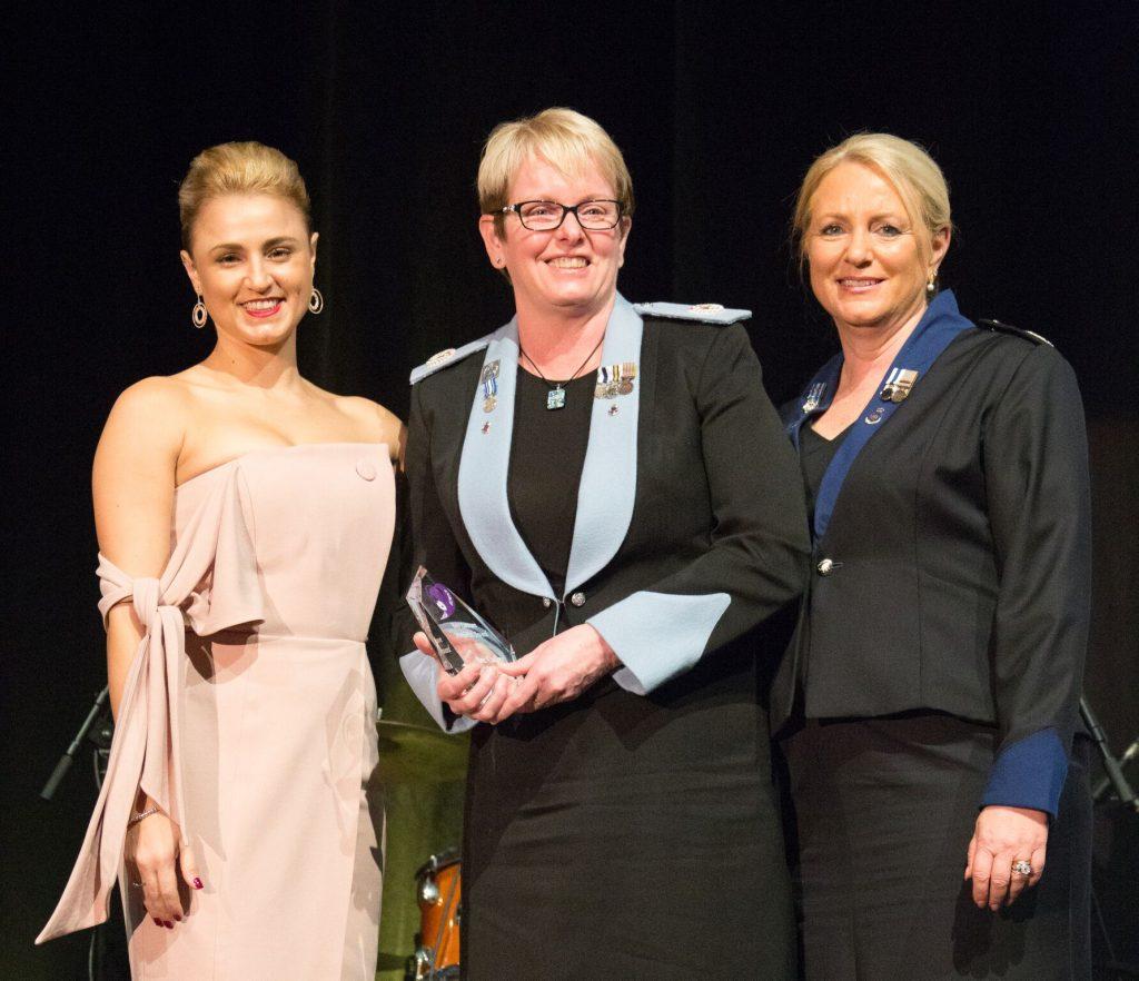 1.1 Chloe Kopolivich, Sajen Legal with AC Debra Abbott APM, who received the Bev Lawson Memorial Award on behalf of award winner Bec Caskey_preview